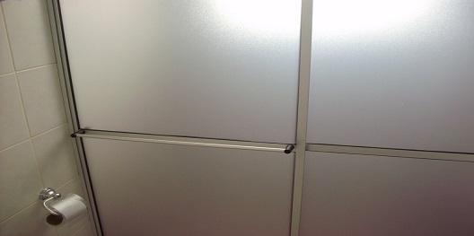 perfil de aluminio para box de acrílico hyspex