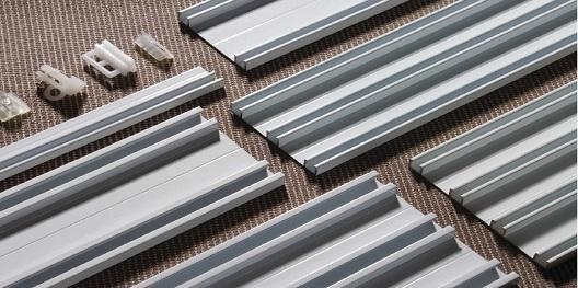 perfil de alumínio para cortinas e persianas hyspex