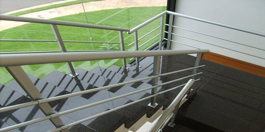 perfil de aluminio para corrimao hyspex