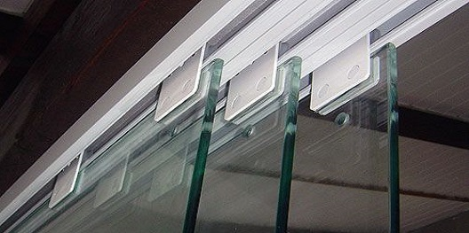 Perfil Alumiino Trilho Stanley vidro temperado hyspex